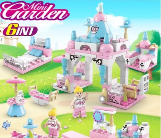 Đồ Chơi lego cho Bé Gái khu vườn cổ tích, công viên tuổi thơ, thành phố vui nhộn , shop giao bộ ngẫu nhiên, chát với shop để chọn bộ.