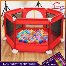 Lều bóng, lều bóng cho bé khung thép không gỉ chắc chắn đảm bảo an toàn cho bé, tặng kèm bóng cho bé