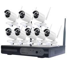 Bộ Kit Camera IP Wifi Không Dây 8 Kênh HD NVR KIT 2.0MP