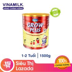[Freeship HCM & HN] Sữa Bột Vinamilk Dielac Grow Plus 1+ Hộp Thiếc 1500g – Dành cho bé 1-2 tuổi