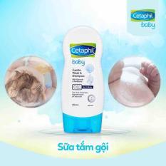 Sữa tắm gội toàn thân Cetaphil Baby Gentle wash and shampoo