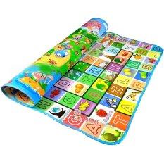 Thảm MABOSHI 2 mặt cho bé thông minh [1,6m x 2m], Nhiều màu