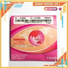 TRÒNG KÍNH DURALENS 1.56 HMC THAILAN giá bán theo cặp