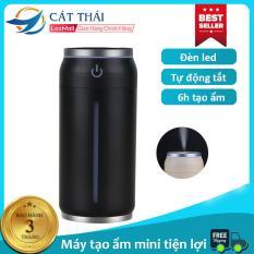 Máy tạo ẩm / Máy phun sương mini Cát Thái ML-BJG đèn led 7 màu siêu đẹp 2 chế độ tạo ẩm không gây ồn, có cổng USB, chức năng tự tắt khi hết nước, tạo ẩm hạt siêu nhỏ không sợ ướt bàn, nhỏ gọn tiện nghi dễ dàng mang theo