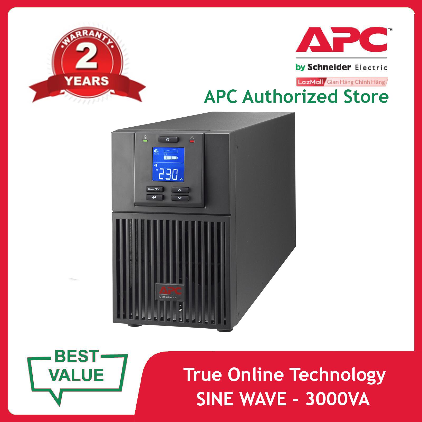 Bộ lưu điện APC: Easy UPS SRV 3000VA 230V – SRV3KI