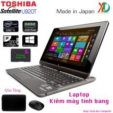 Laptop kiêm máy tính bảng Toshiba Satellite U920T Core i5-3317U, 4gb Ram, 128gb SSD,màn hình 12.5inch cảm ứng