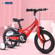 Xe đạp trẻ em chính hãng BBT Global khung siêu nhẹ size 16 inch màu đỏ BB66-16D – xe đạp cho bé, xe tập đi, xe thăng bằng, do choi tre em, xe 4 bánh