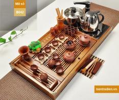 Bàn trà điện thông minh bằng gỗ B042
