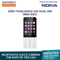 Điện thoại Nokia 230 Dual sim – Màu Bạc