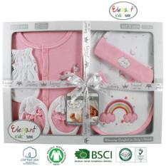 Set hộp quà tặng sơ sinh 6 chi tiết cho bé