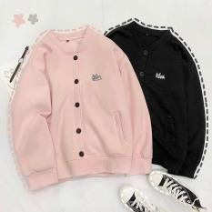 (FREESHIP TOÀN QUỐC) – Áo Khoác Cardigan, Sweater, Jacket Uncover Nữ Nam Chất Thun Nỉ Ngoại Fool's Game Form Rộng Nút Cài Unisex