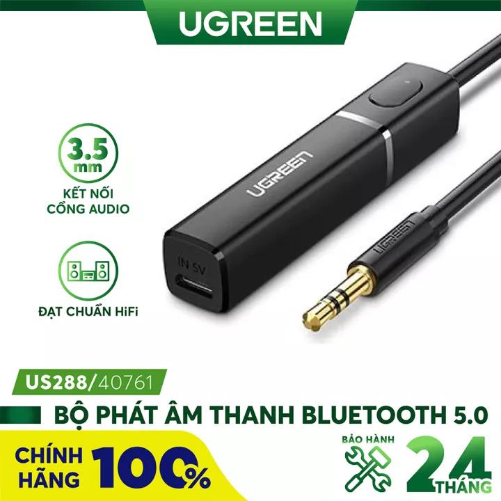 [Nhập ELJUL21 giảm 10% tối đa 200k đơn từ 99k]Bộ Phát Âm Thanh Bluetooth 5.0 Ugreen Hãng Phân Phối Chính...