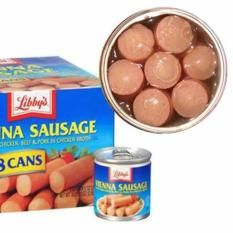 [Date: 07/2022] Lốc 6 Hộp Xúc xích Mỹ Libbys Vienna Sausage – USA, Xúc xích hộp, Thịt hộp, Thịt đóng hộp, Xúc xích Libby's, Xúc xích hộp Libbys Mỹ USA – Bách hóa Takamart