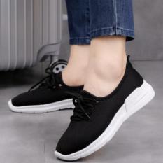 Giày thể thao Sneaker nam nữ Sport ACG D35 (Đen) chất liệu vải kết hợp da cao cấp với đường may tỉ mỉ, chắc chắn