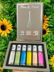 HỘP 6 CHAI MẪU THỬ NƯỚC HOA 6ML – nước hoa made in france siêu xinh – hương thom dịu nhẽ thơm lâu – hộp sang chảnh làm quà tặng cực yêu