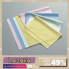 Bộ 5 khăn lau điện thoại, mắt kính size 14×17 cm mềm mịn, không gây trầy xước