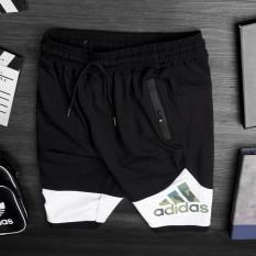 Quần đùi nam thể thao cao cấp, quần đùi nam mặc nhà thể thao vải thun mềm, co giản 4 chiều thấm hút mồ hôi QS07