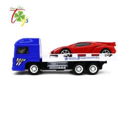 Đồ chơi xe tải chở Lamborghini chạy trớn cho bé từ 2 tuổi trở lên (32x12x12cm) – FG-QT0486A