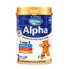Sữa Bột Dielac Alpha 3 900g – Dành cho bé 1-2 tuổi – HSD luôn mới
