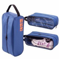 Túi đựng giầy thể thao tiện, vải chống thấm, thiết kế nhỏ gọn, có quai