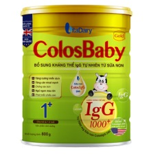 Sữa Non ColosBaby Gold Số 1+ 800g – IgG 1000+ (COLOS BABY – COLOSBABY – Colos baby)