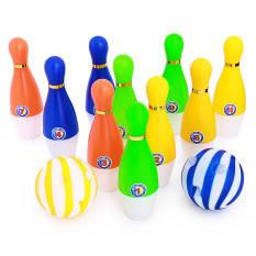 Bộ đồ chơi bowling (10 quả & 02 bóng) vui nhộn cho bé