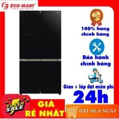 Tủ lạnh Hitachi Inverter 569 lít R-WB640VGV0(GBK) mặt gương đen