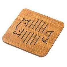 2 tấm lót nồi bằng gỗ