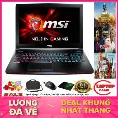 MSI GE62 2QF Core i7-5700HQ/ 8G/ SSD128+500G/ VGA GTX 970M/ 15.6 inch Full HD 1920*1080 IPS, Phím 7 Màu, Chất liệu vỏ nhôm cao cấp