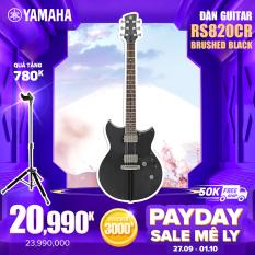 """[Trả góp 0%] Đàn Guitar điện yamaha Revstar RS820CR – Pickup Hambucking/VH5+ công tắc Push-Pull """"Dry Switch"""" ngựa đàn TonePros AVT-II Bridge – Bảo hành chính hãng"""