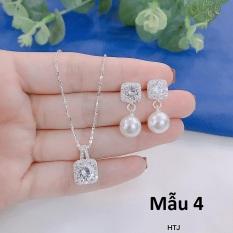 Bộ trang sức bạc ta cao cấp MS225