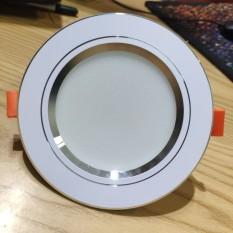 Đèn Led Âm Trần 7W Đế tản nhiệt 3 màu 3 chế độ , phi 90 bảo hành 1 năm