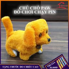 Đồ chơi trẻ em, chú chó PAW chạy bằng pin đáng yêu dành cho bé