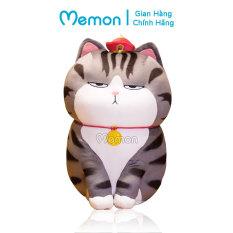 Gấu Bông Mèo Hoàng Thượng 60cm Cao Cấp Memon