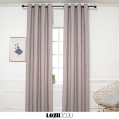 LOZUJOJU ngang cao tùy chọn dùng làm rèm cửa chính rèm cửa sổ màn cửa chống nắng trang trí phòng ngủ 1 PCS