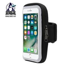 Túi đựng điện thoại đeo tay khi tập thể dục mặt trong suốt