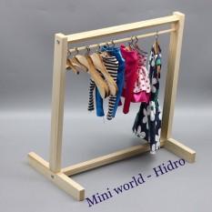 [Thu thập mã giảm thêm 30%] Giá treo quần áo búp bê Barbie – Sào treo quần áo búp bê chất lượng sản phẩm đảm bảo và cam kết hàng đúng như mô tả