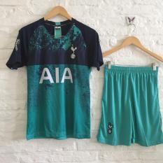Bộ áo đá banh Tottenham xanh ngọc 2019!
