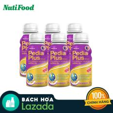[Voucher freeship 30k]Lốc 6 chai NutiFood Pedia Plus Gold chai 237ml