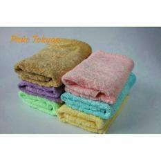 Khăn mặt sợi tre xuất Nhật siêu mềm, thấm nước cực tốt (Bộ 3 khăn)