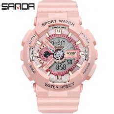 Đồng hồ Nữ thể thao SANDA SEA, Chạy 2 Máy Cao Cấp Của Nhật, Chống Nước Rất Tốt – Đồng hồ nữ chống nước, Đồng hồ nữ thể thao, Đồng hồ nữ thời trang, Đồng hồ nữ cao cấp, Đồng hồ nữ giá rẻ
