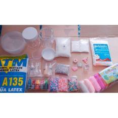 Bộ kit làm slime -4in1- 250k nguyên liệu làm slime