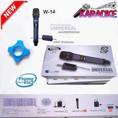 Micro không dây Universal W-14 cho loa kéo hàng cao cấp