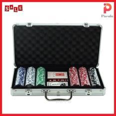 Bộ phỉnh poker 300 chip không số, hàng cao cấp nhập khẩu P110 – Boardgame
