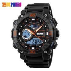 Đồng hồ thể thao nam Skmei 1228 Stopwatch chống nước 50m dây cao su cao cấp (M Chọn màu)