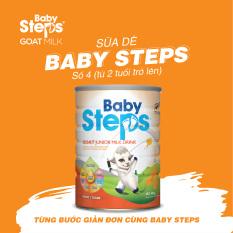 Sữa Dê Baby Steps Số 4