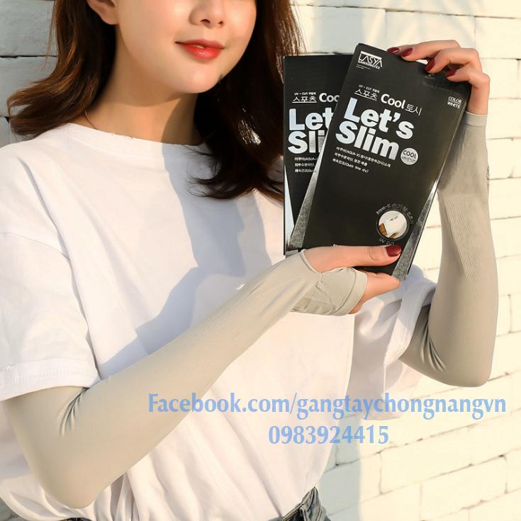 Găng tay chống nắng Let's Slim Hàn Quốc Chính Hãng