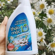 Bình xịt Thảo Mộc 10s Loại 500mL – 100% tự nhiên, diệt kiến, muỗi, gián hiệu quả, an toàn
