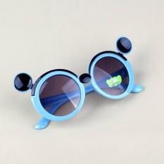 Kính cho bé gái 2-10 tuổi siêu đáng yêu chống tia UV, Kính mát trẻ em thời trang hình bọ cánh cứng_HANG1KMS49