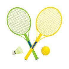 Vợt cầu lông, vợt tenis kèm bóng và cầu lông – DCN64